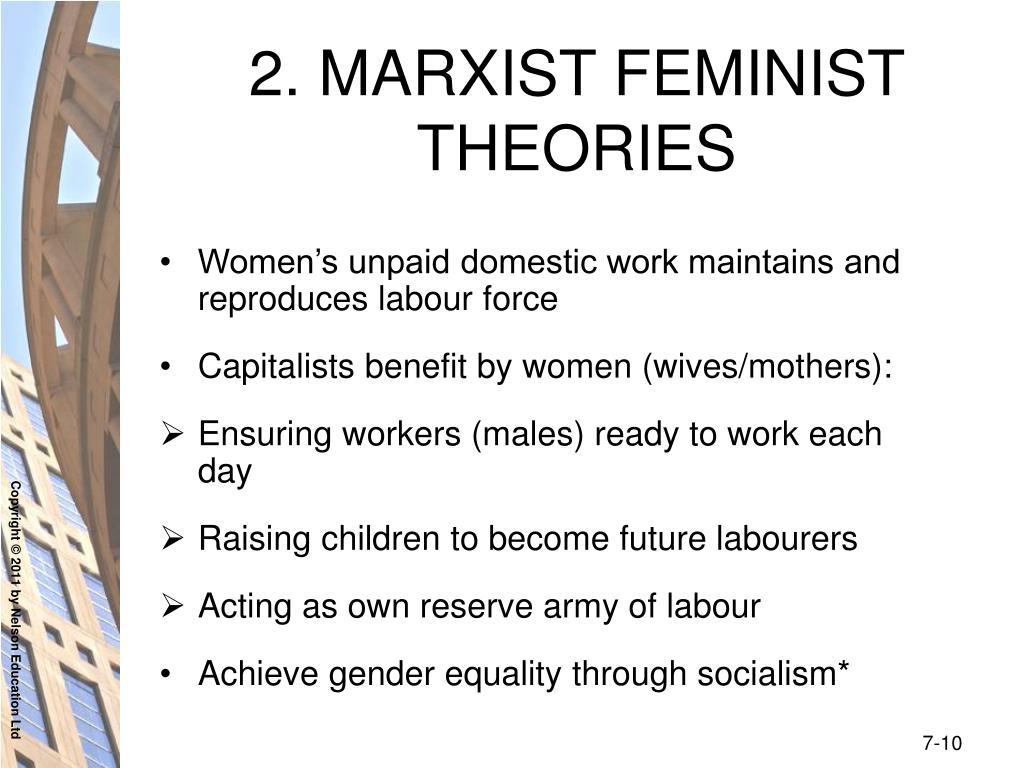 2. MARXIST FEMINIST THEORIES