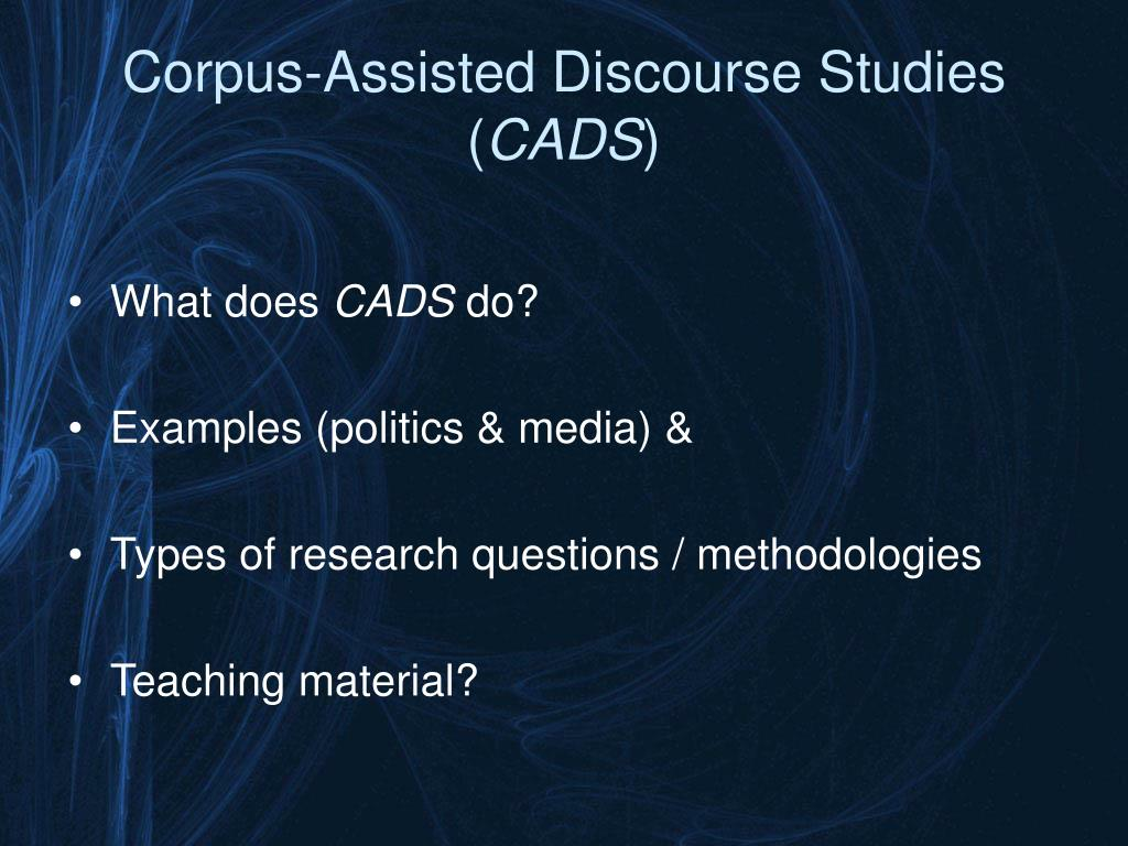 Corpus-Assisted Discourse Studies (