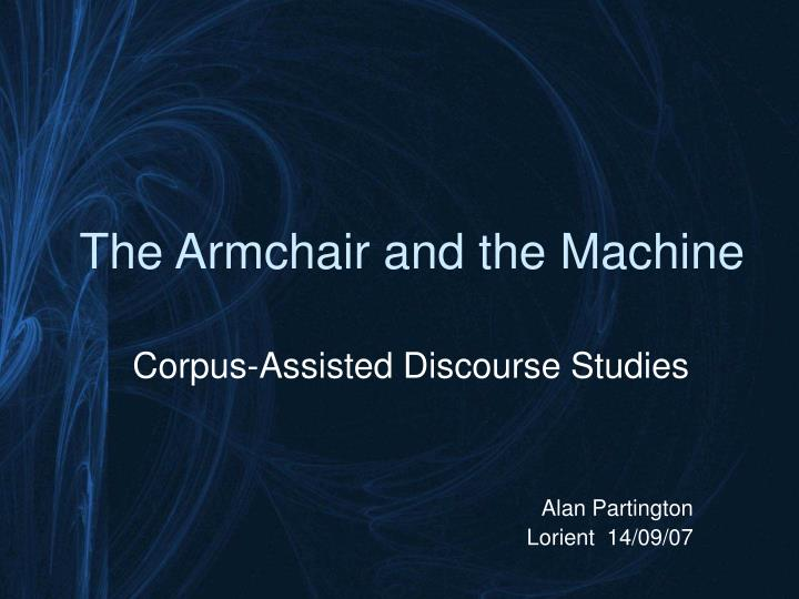 The armchair and the machine