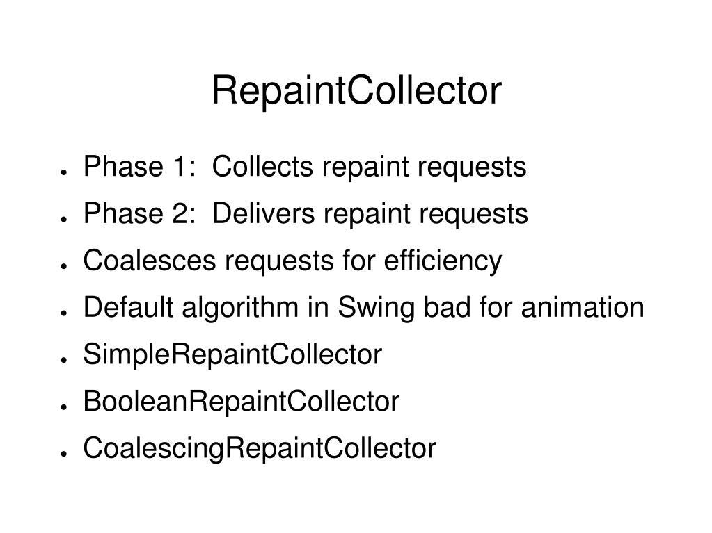 RepaintCollector
