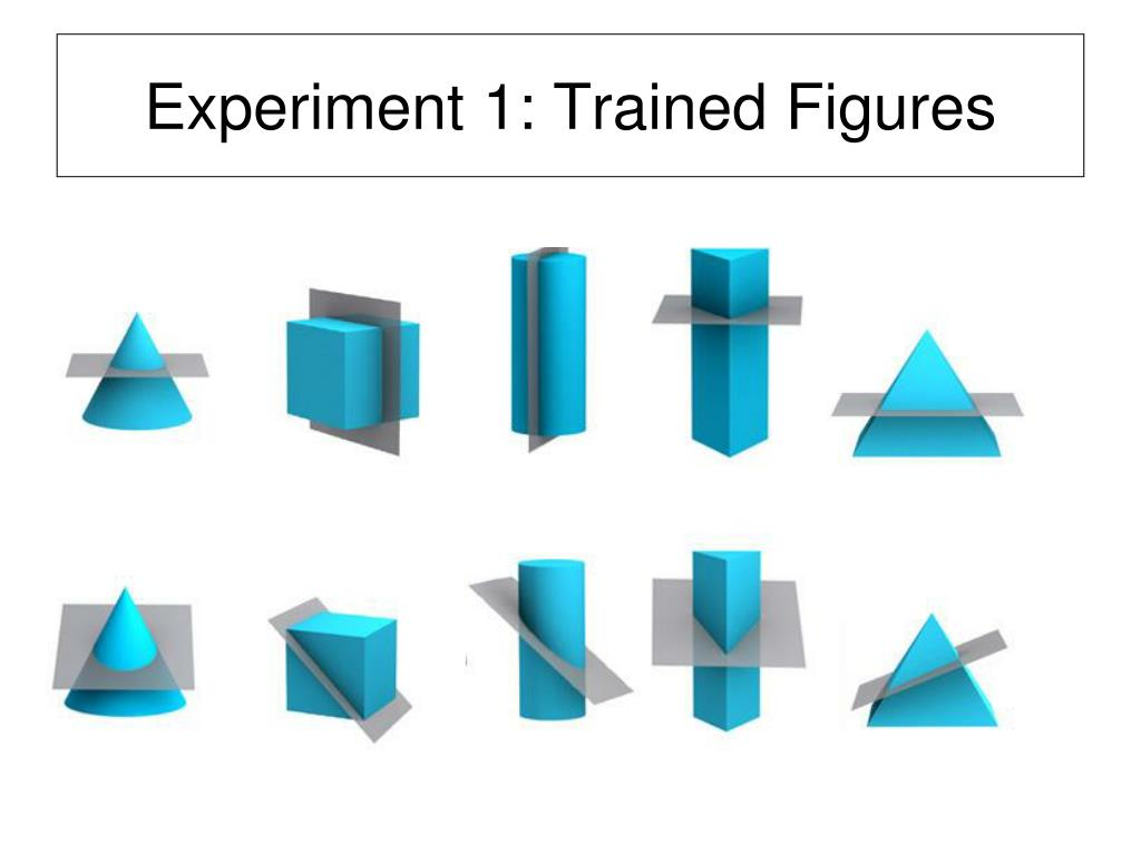 Experiment 1: Trained Figures