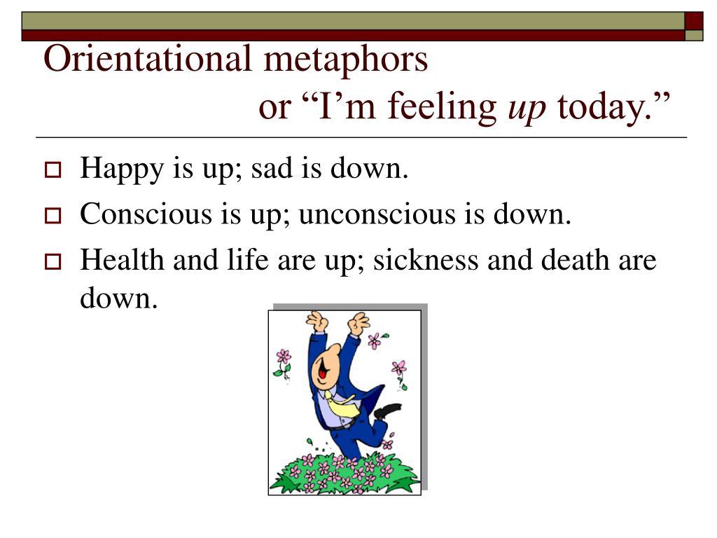 Orientational metaphors