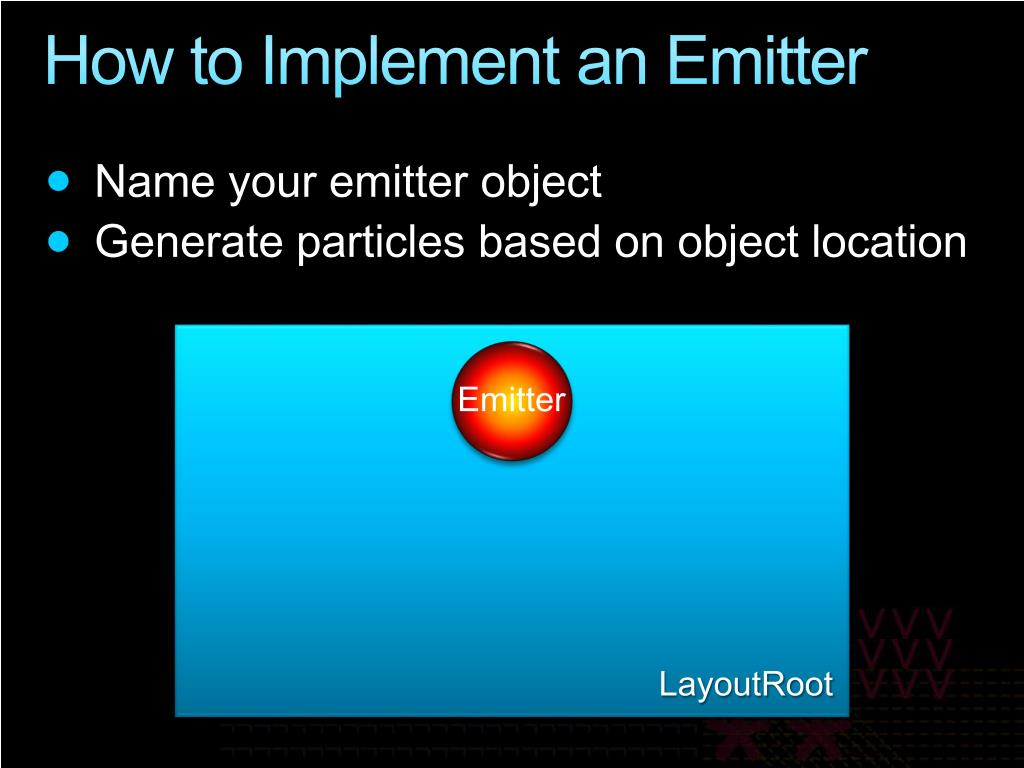 How to Implement an Emitter