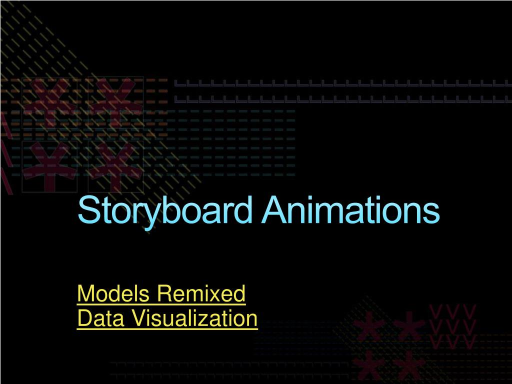Storyboard Animations