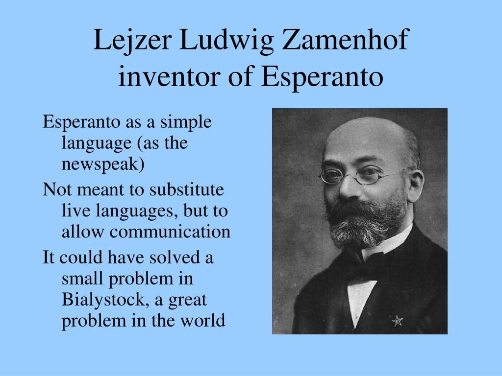 Lejzer Ludwig Zamenhof