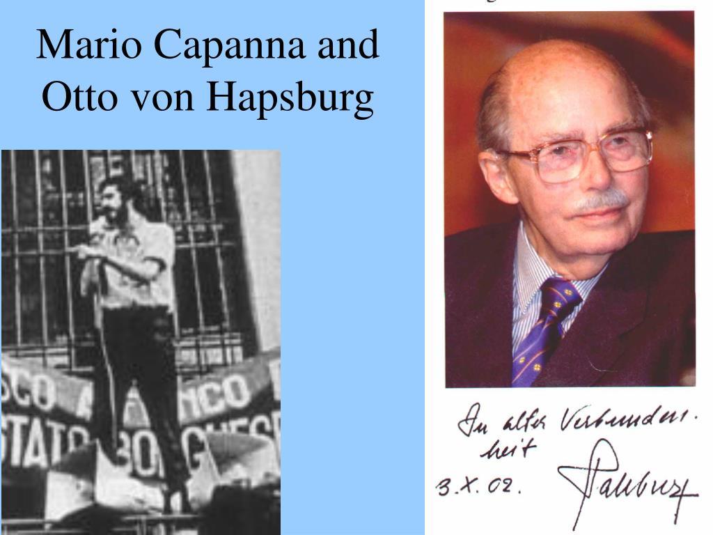 Mario Capanna and