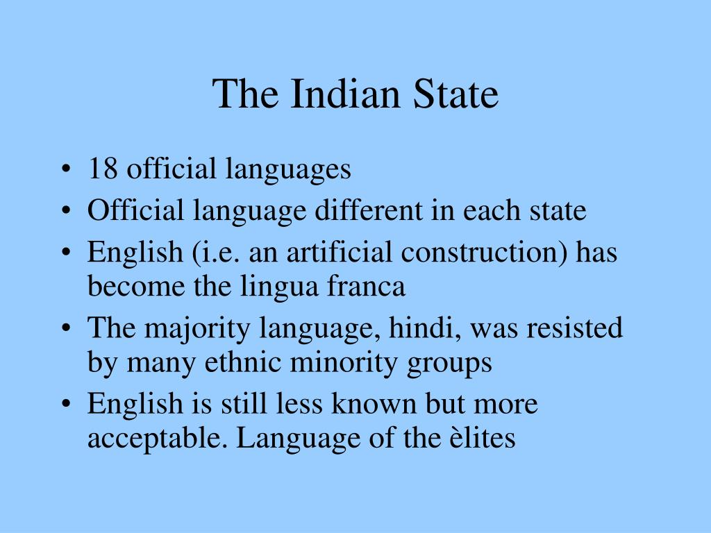 The Indian State