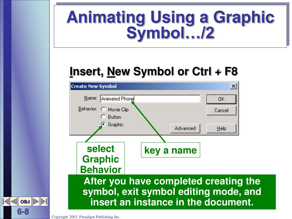 Animating Using a Graphic Symbol…/2