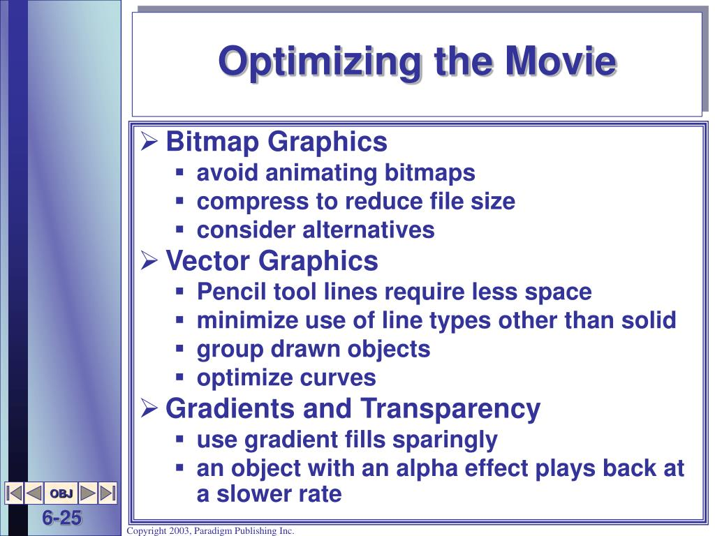 Optimizing the Movie