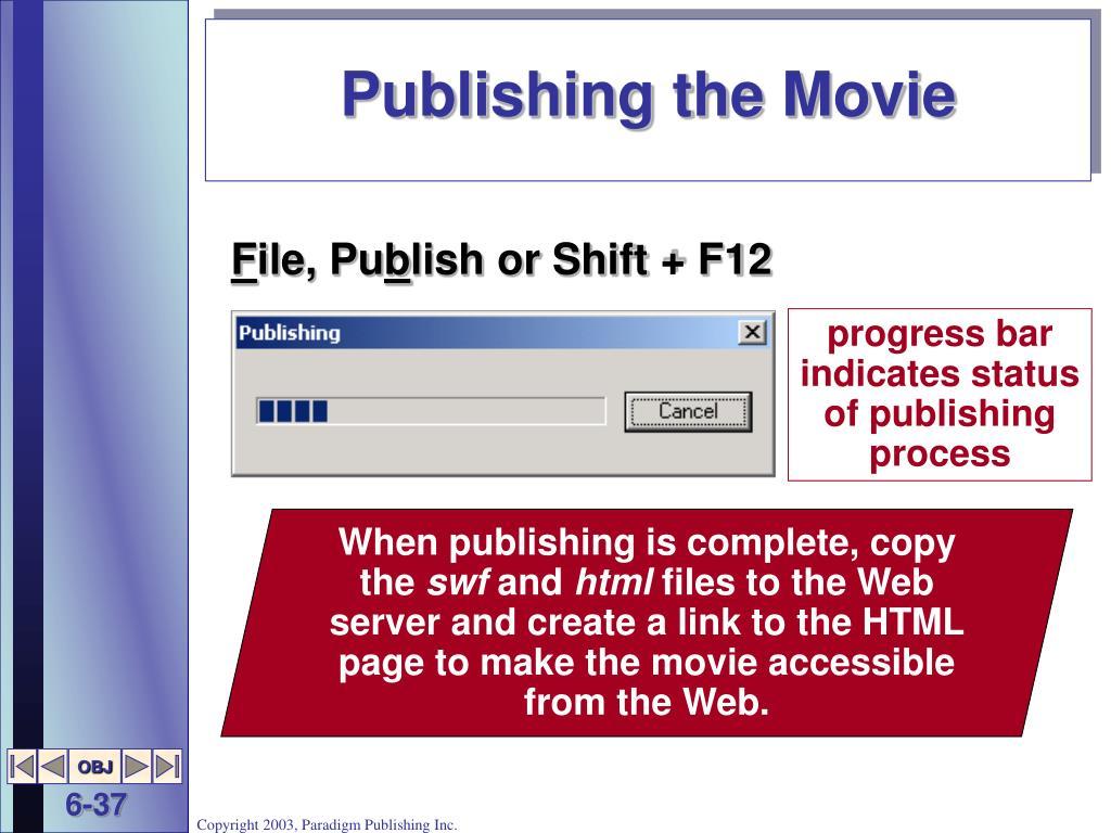 Publishing the Movie