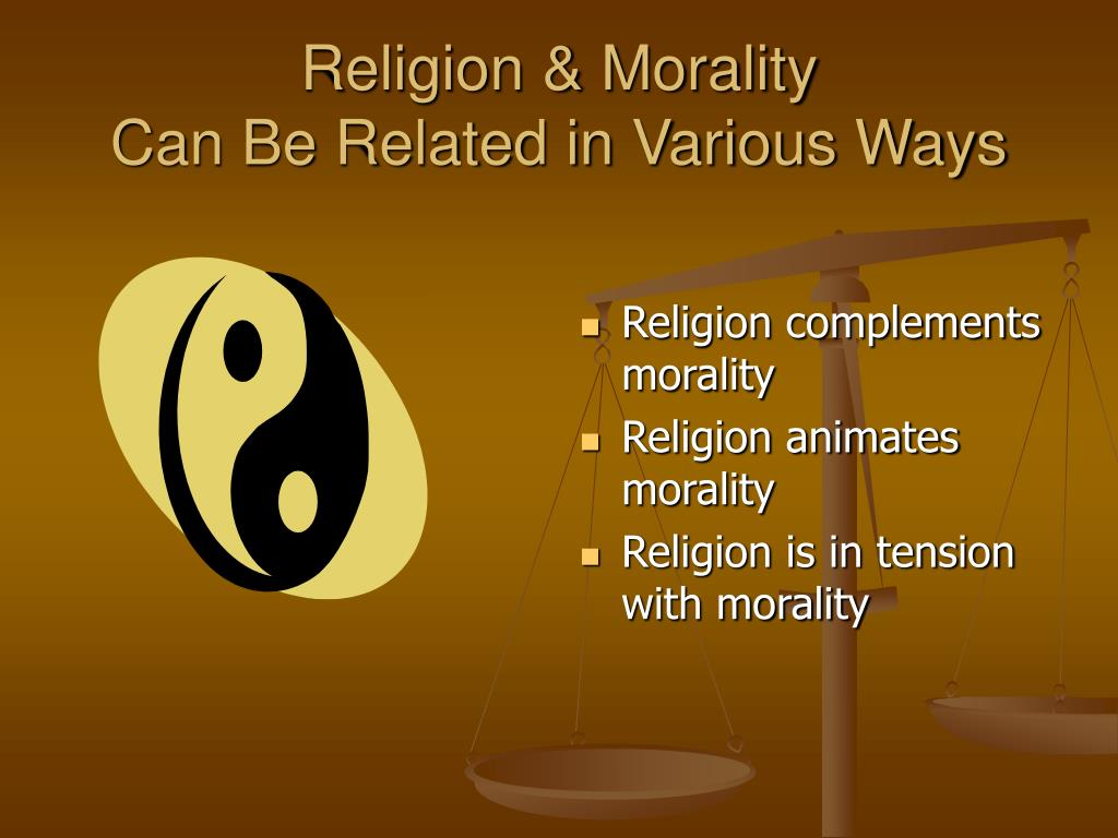 Religion & Morality