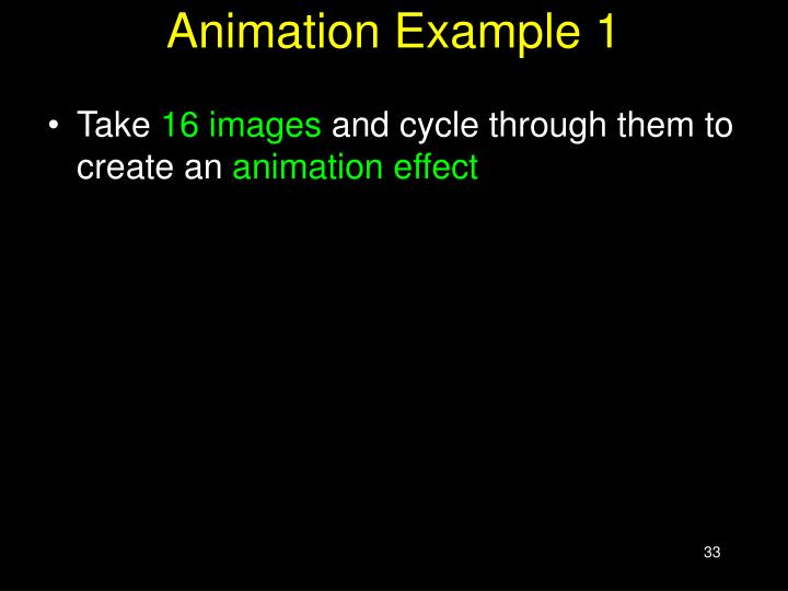 Animation Example 1