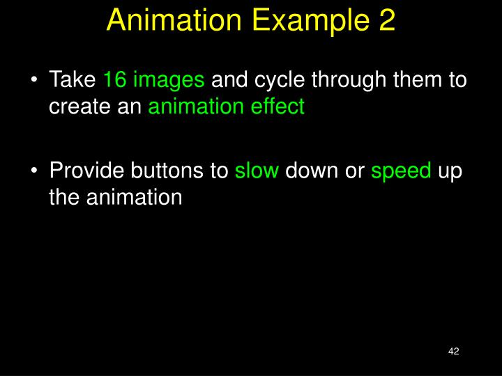 Animation Example 2