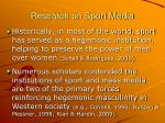research on sport media6