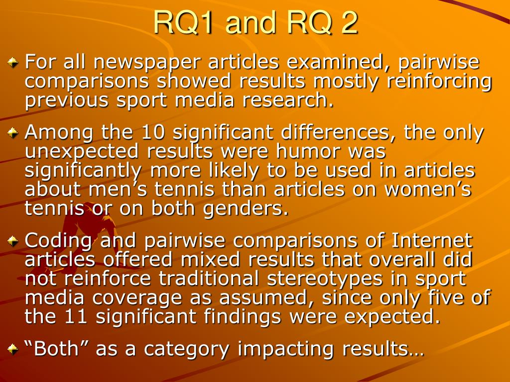 RQ1 and RQ 2
