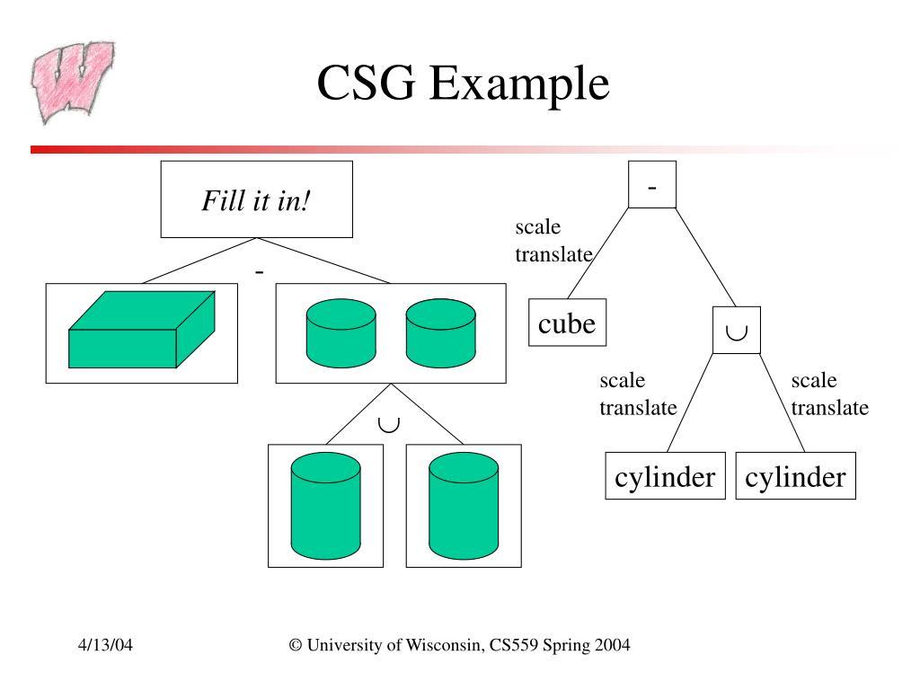 CSG Example