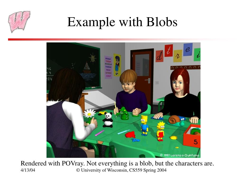 Example with Blobs