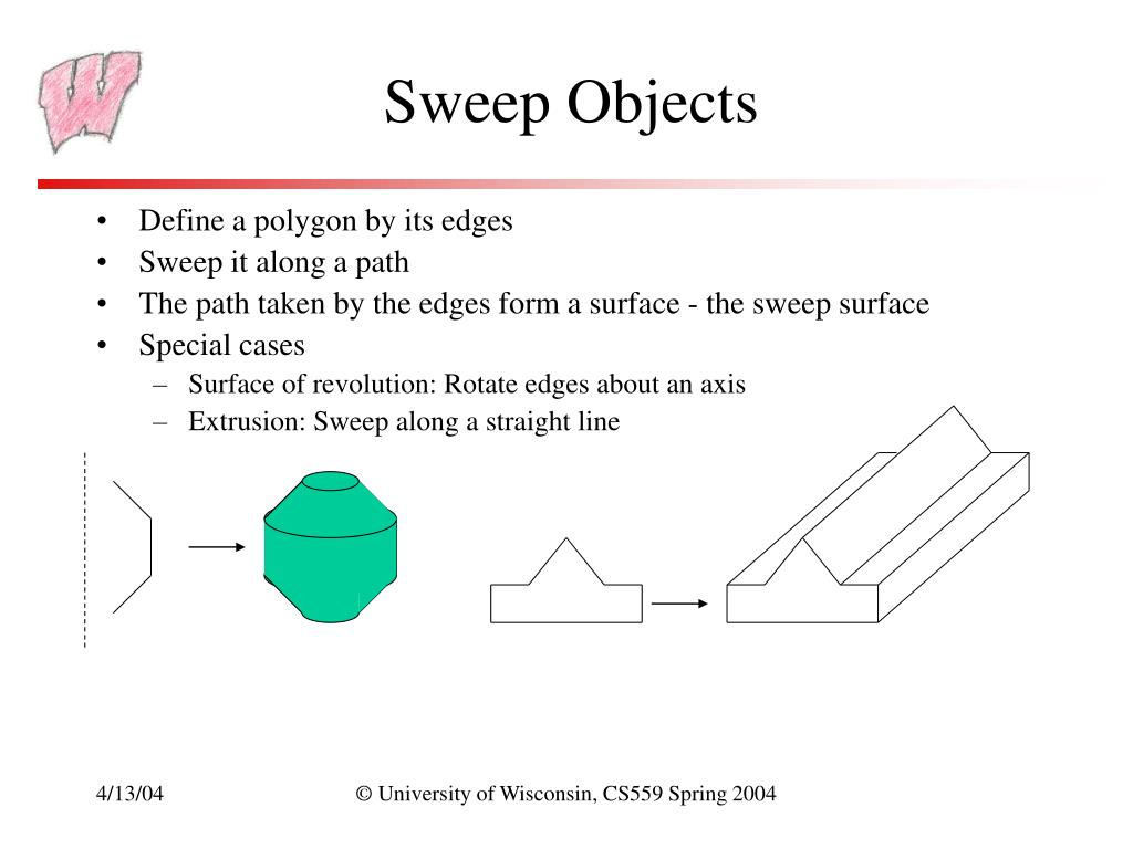 Sweep Objects