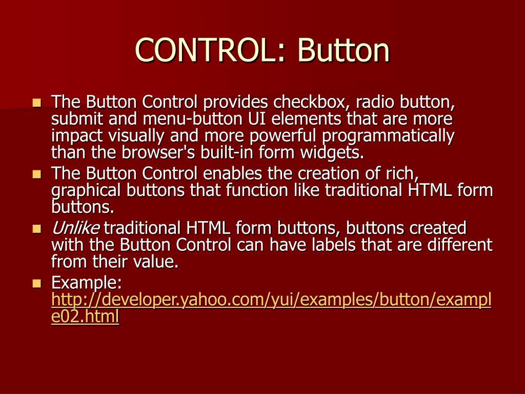 CONTROL: Button