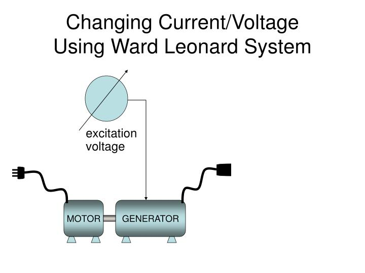 Changing Current/Voltage