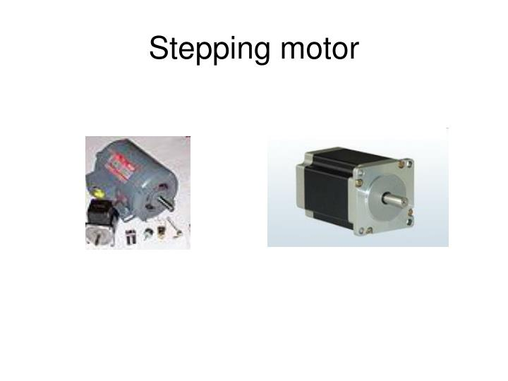 Stepping motor