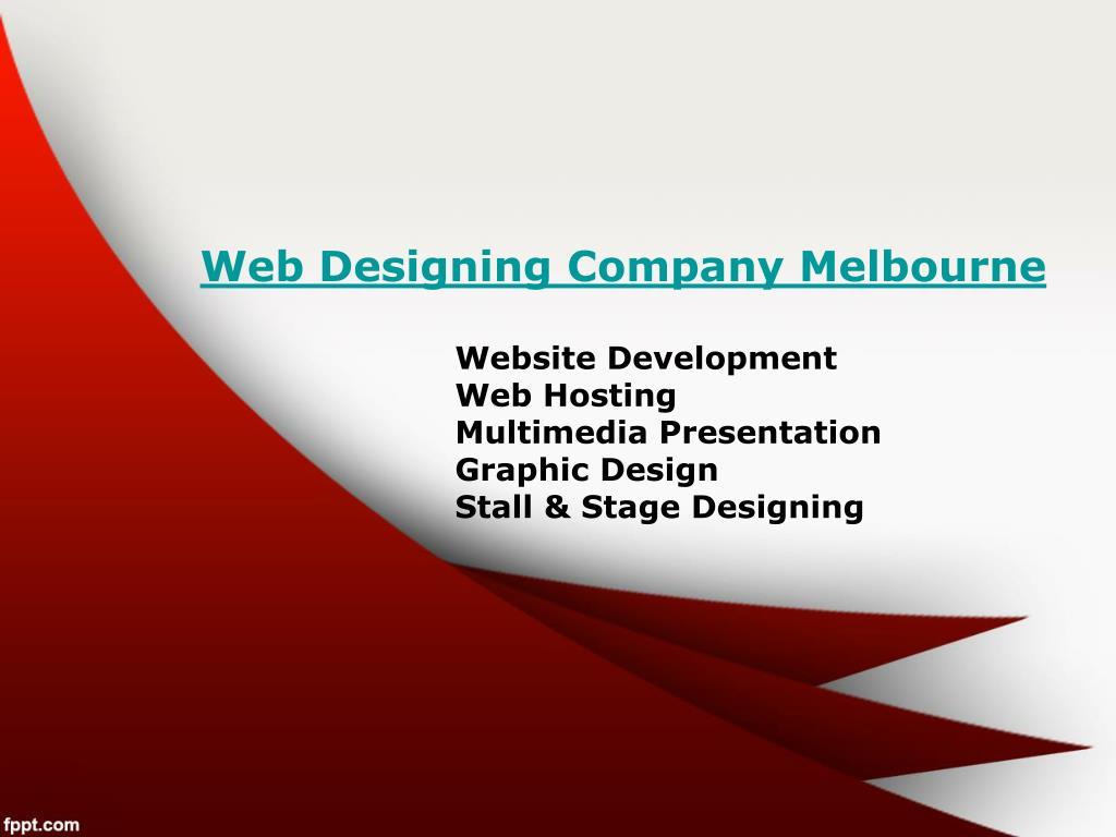 web designing company melbourne