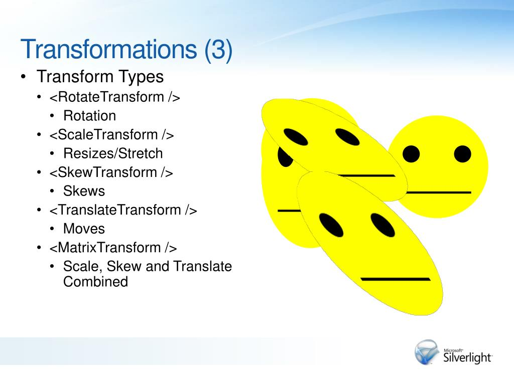 Transform Types