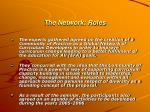 the network roles