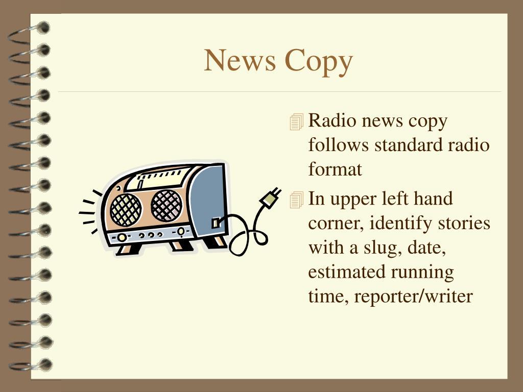 News Copy
