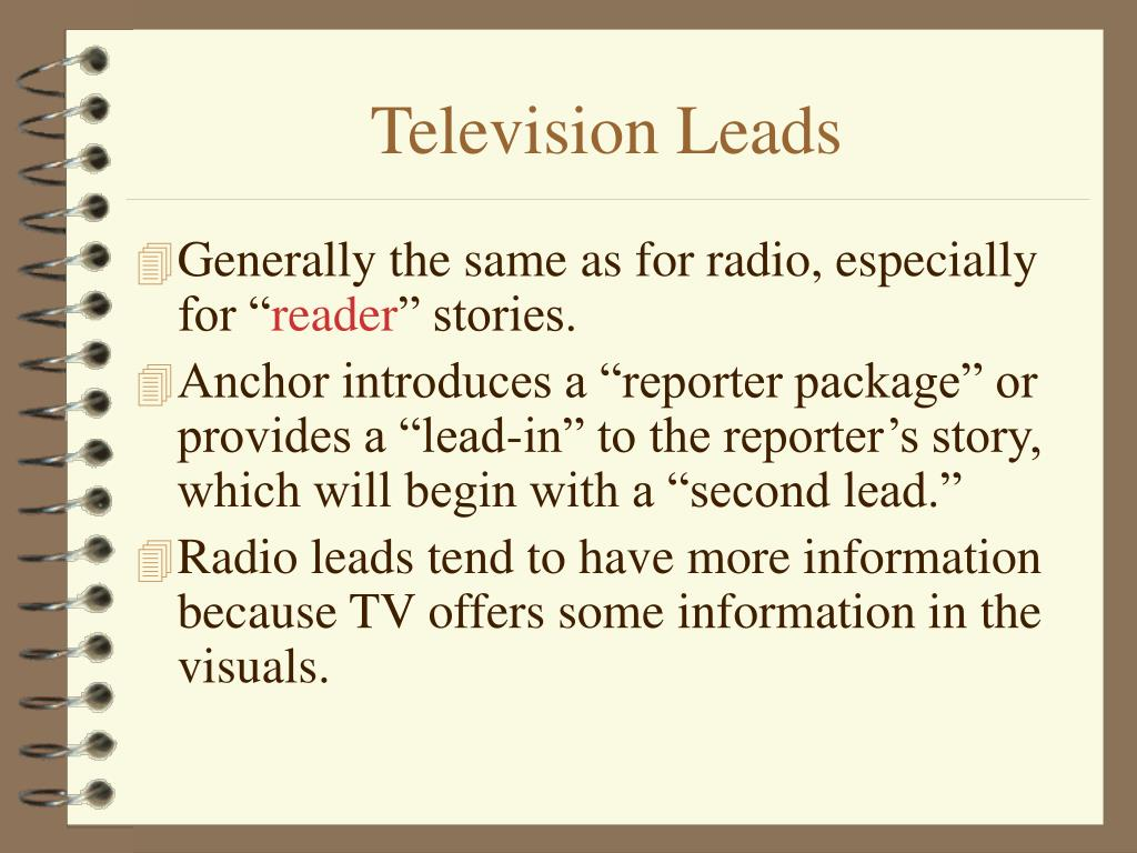 Television Leads
