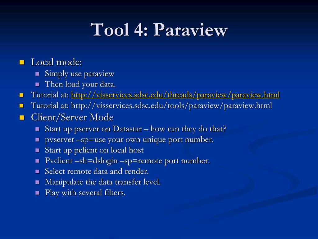 Tool 4: