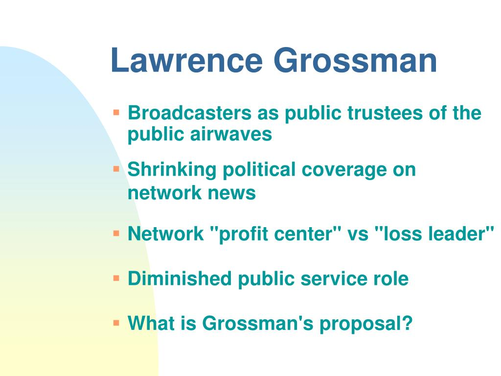 Lawrence Grossman