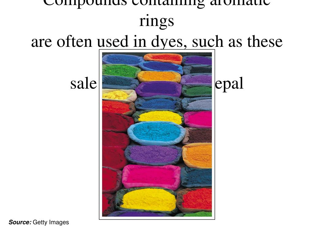 Compounds containing aromatic rings
