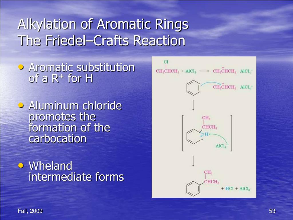 Alkylation of Aromatic Rings