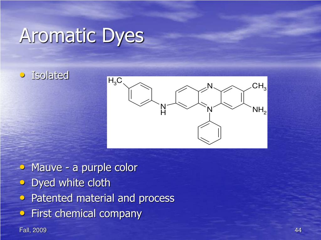 Aromatic Dyes