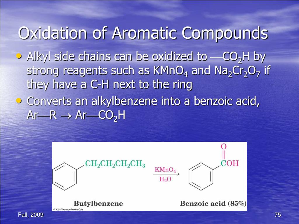 Oxidation of Aromatic Compounds