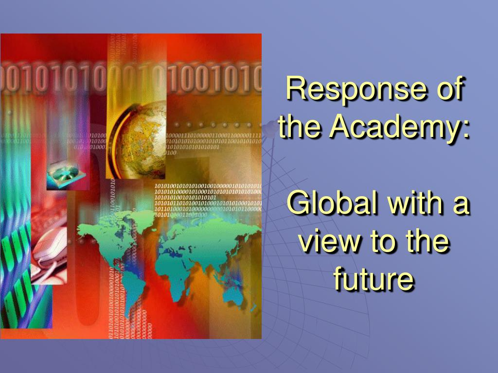 Response of the Academy: