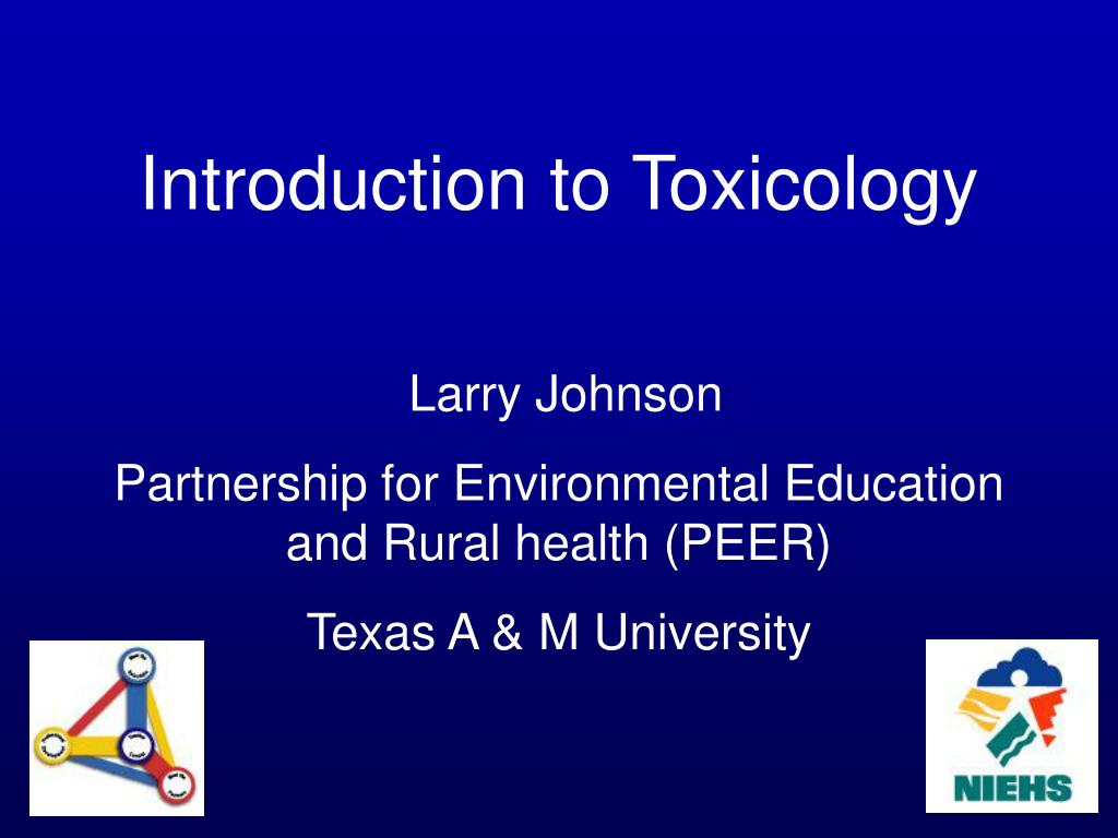 introduction to toxicology An introduction to toxicology toxicology is the science of poisons (also called toxins) it deals with the chemical nature of poisonous substances and how they.