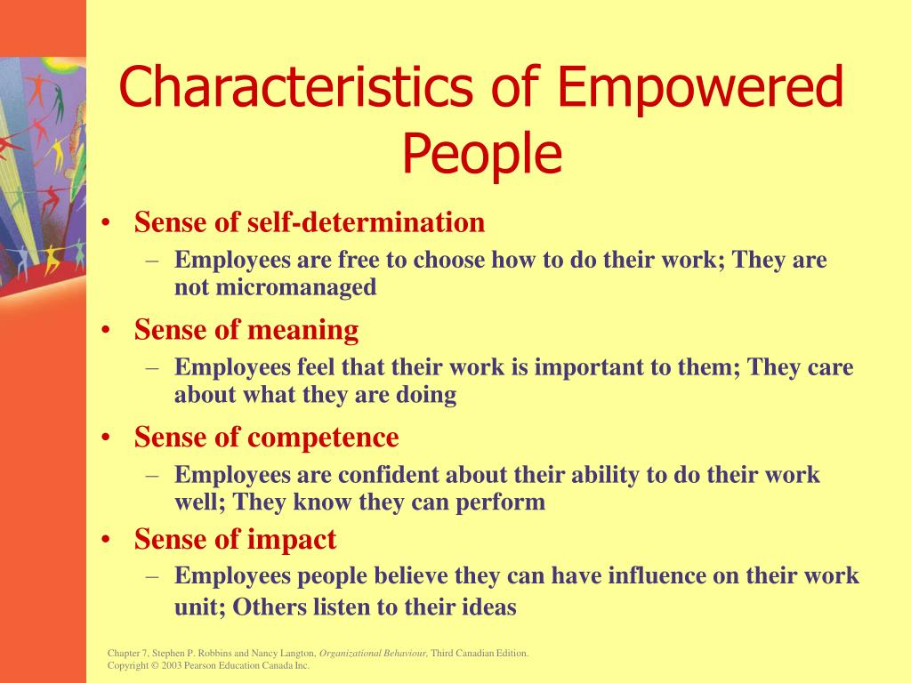 Characteristics of Empowered People