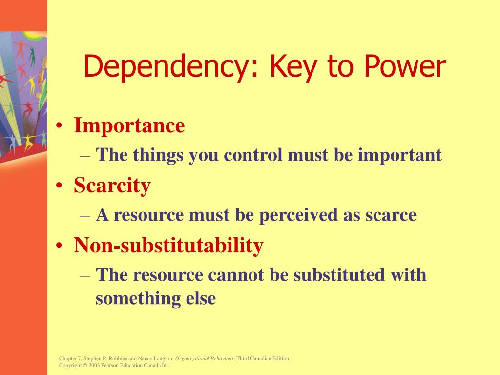 Dependency: Key to Power