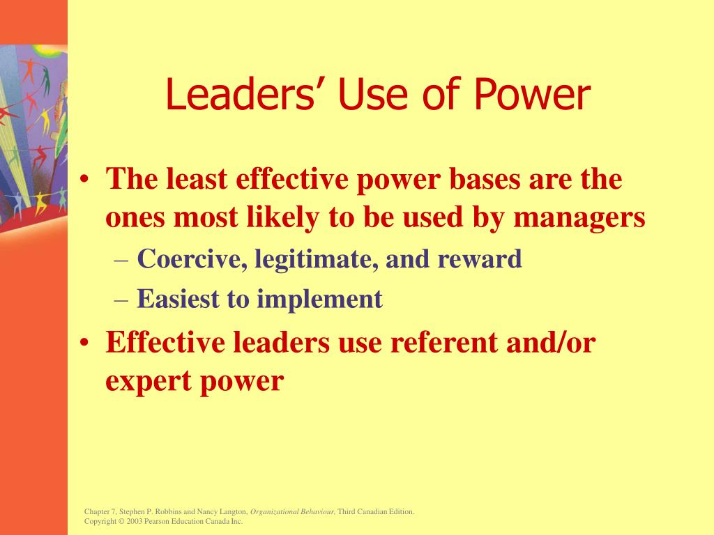 Leaders' Use of Power