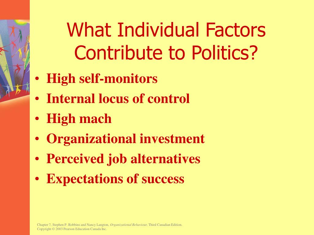 What Individual Factors Contribute to Politics?