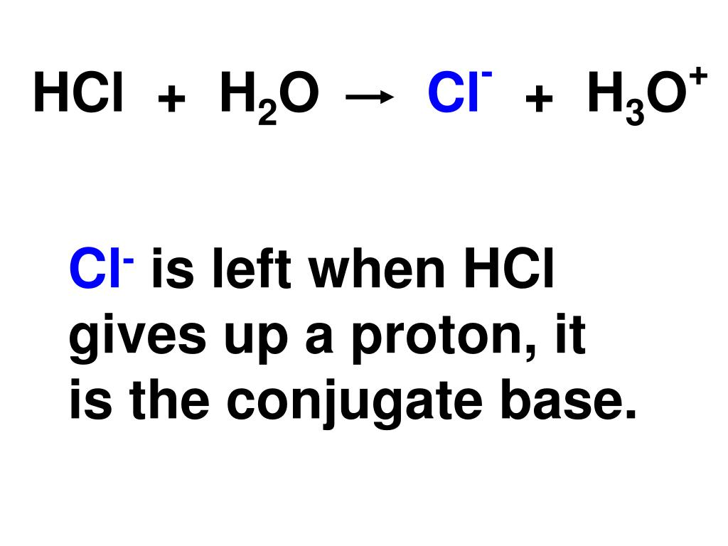 HCl  +  H