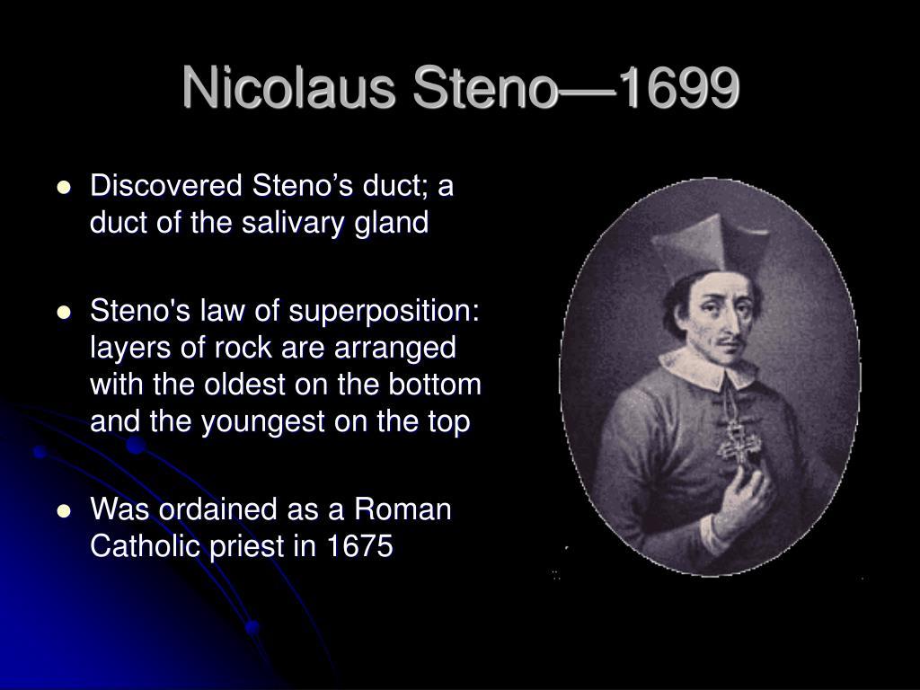 Nicolaus Steno—1699