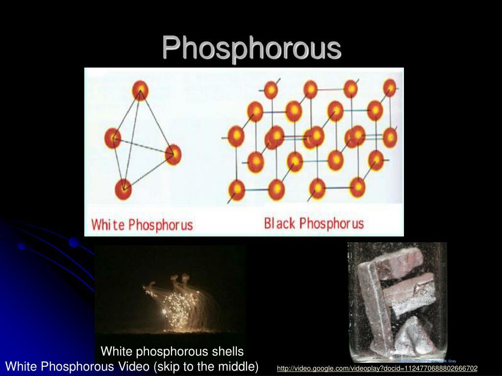 White phosphorous shells