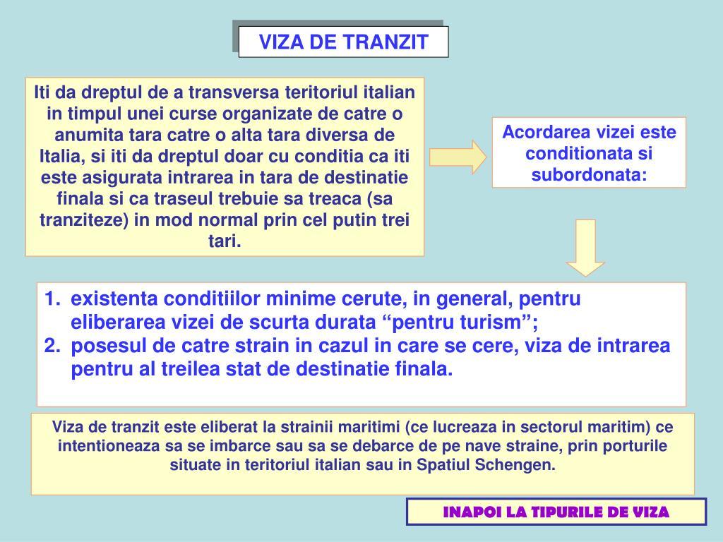 VIZA DE TRANZIT