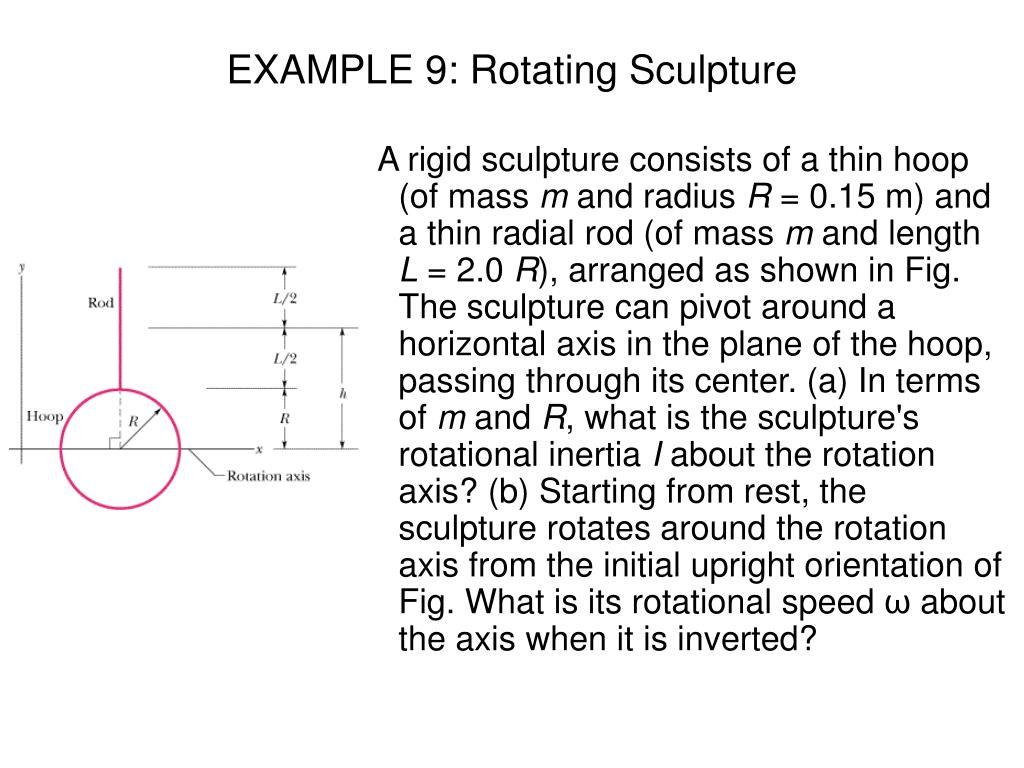 EXAMPLE 9: Rotating Sculpture