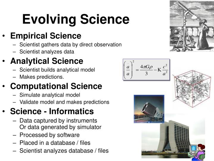 Evolving science