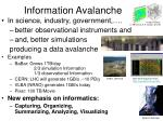 information avalanche30