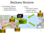 skyquery structure